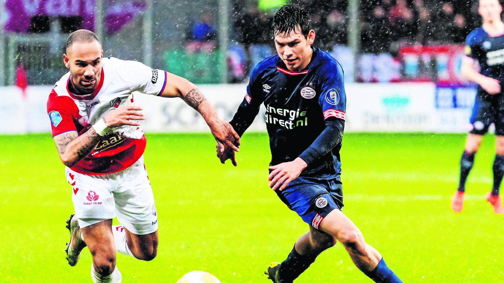 PSV Eindhoven Chucky Lozano Liga Holandesa Excelsior