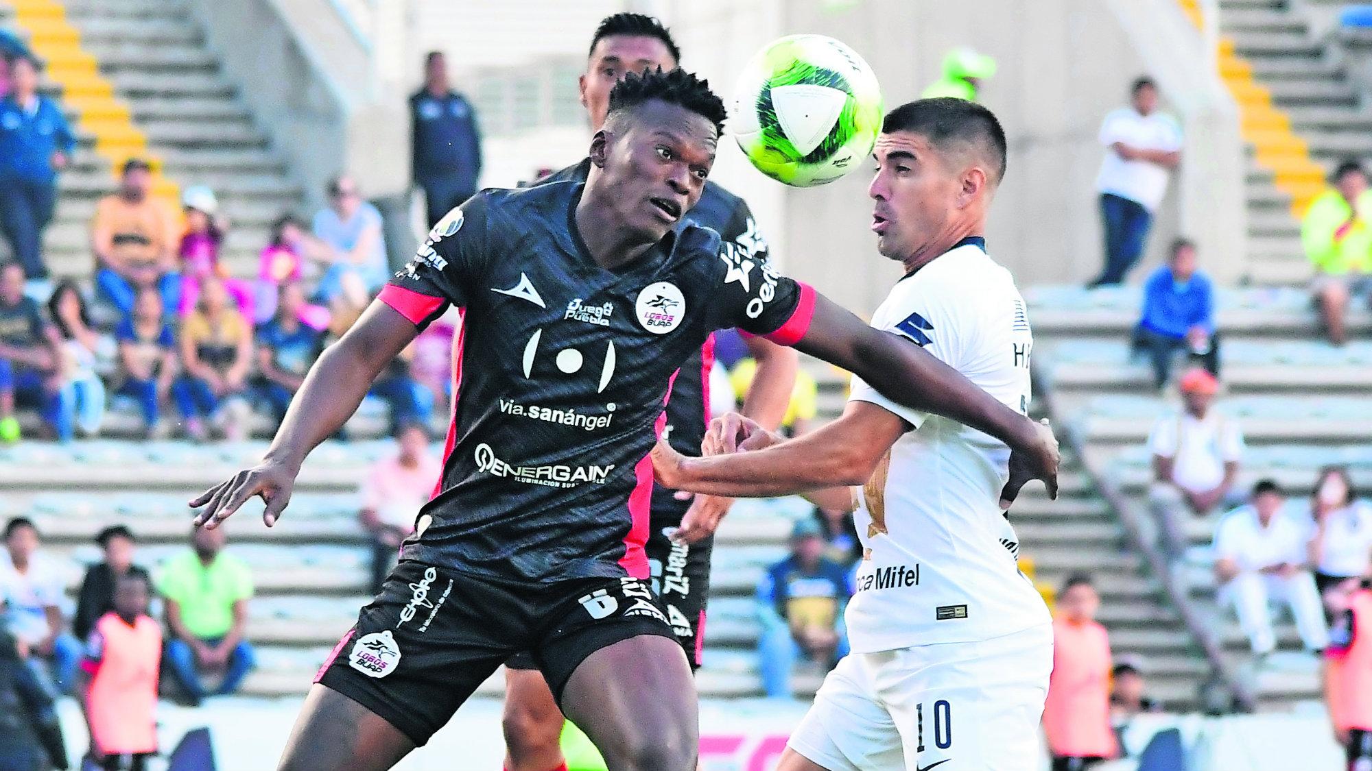 Lobos BUAP Pumas Liga MX Victoria
