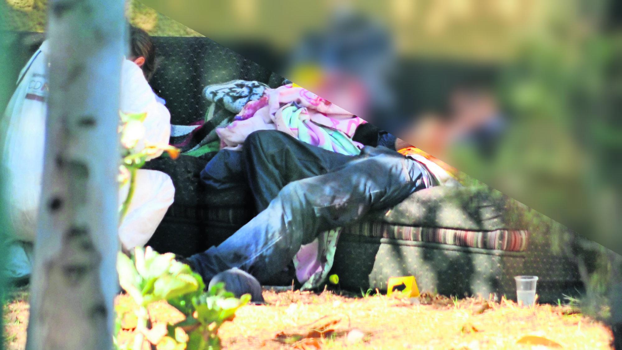 Cadáver Puñaladas Jardín Iztacalco CDMX