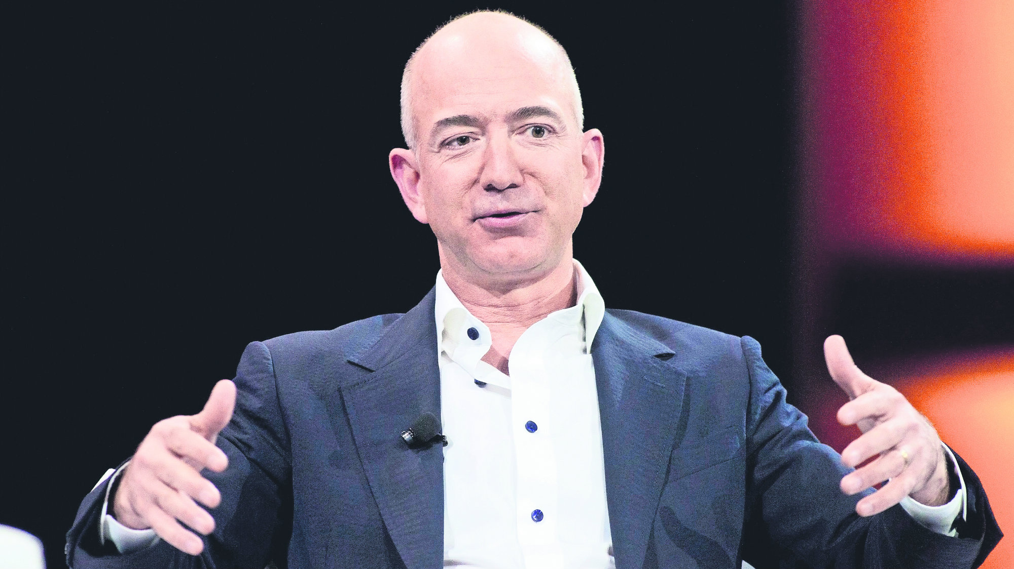 Jeff Bezos hombre más rico del mundo