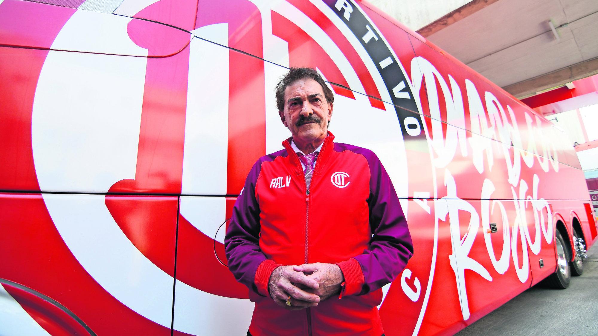 Ricardo La Volpe regresa Toluca mensaje
