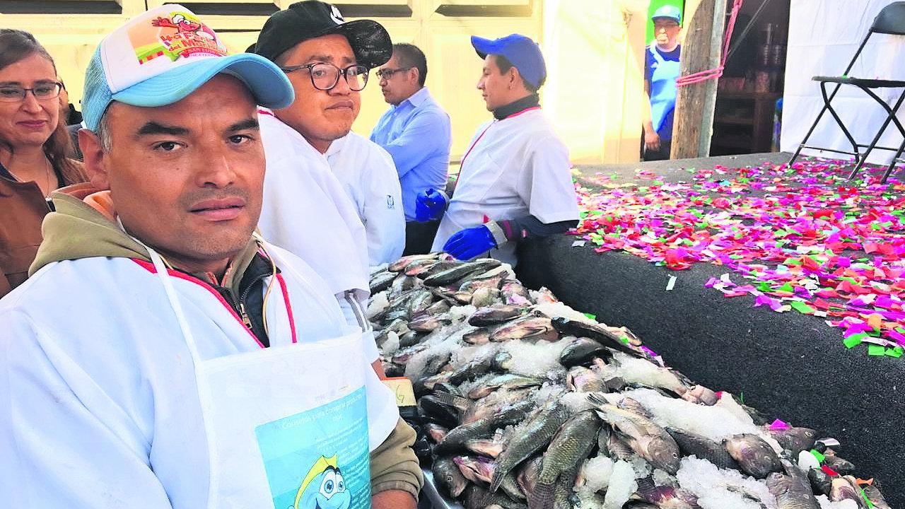 Ceremonia Bendito Pez inicio Cuaresma Zinacantepec