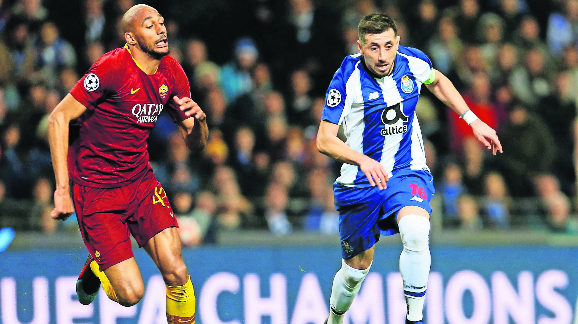 Champions League Porto Roma Victoria Cuartos de final