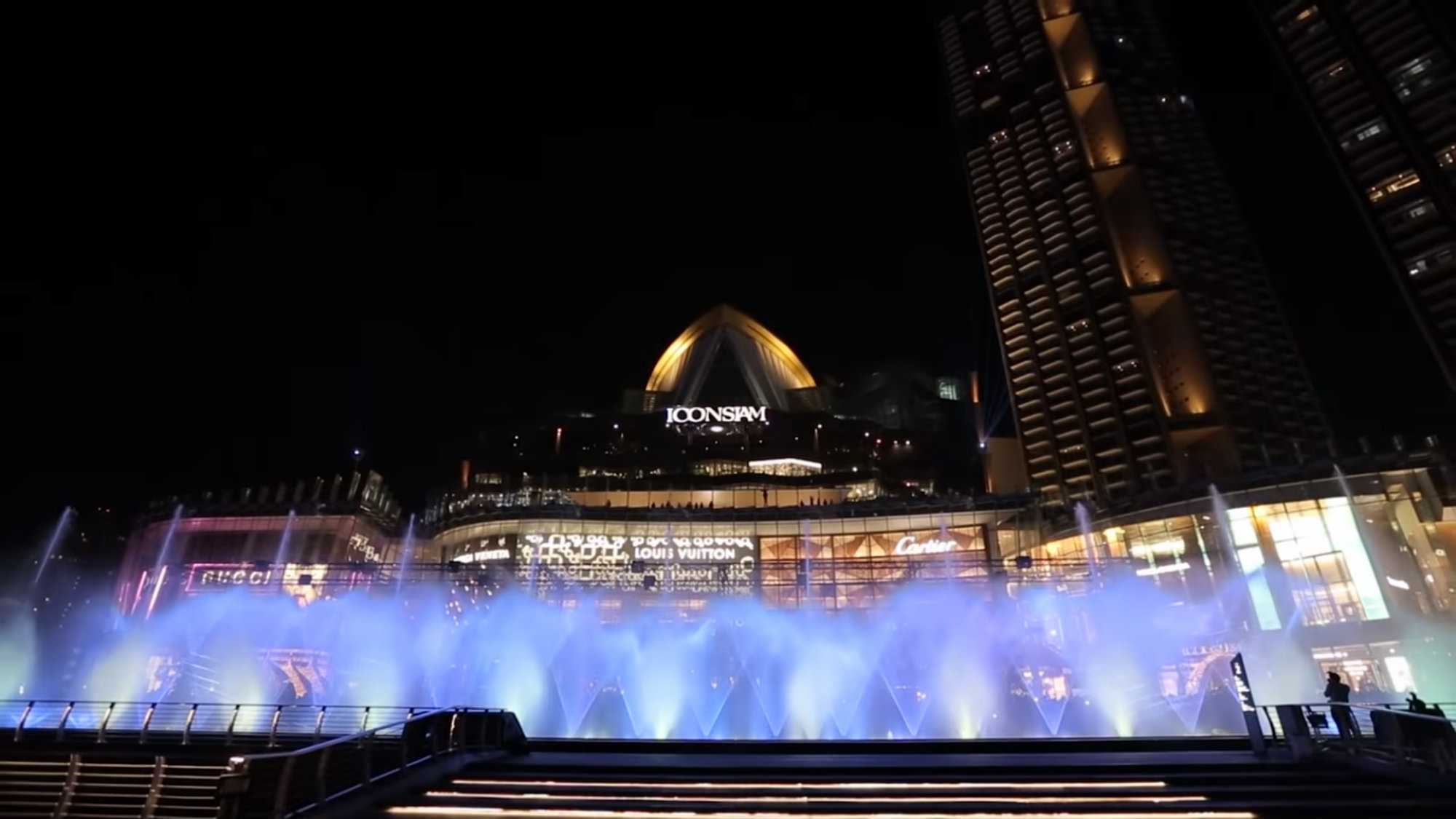 Iconic Multimedia Water Features Inauguran Fuente