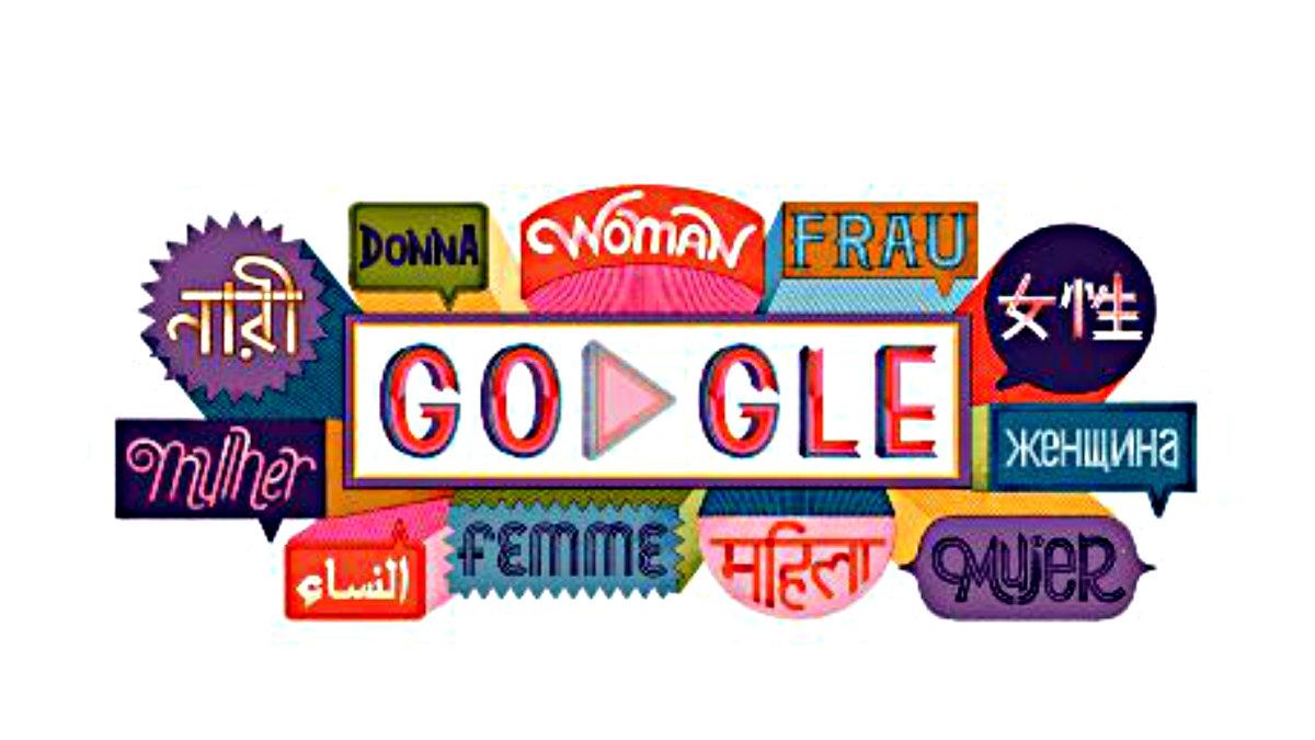 Google Día de la Mujer doodle