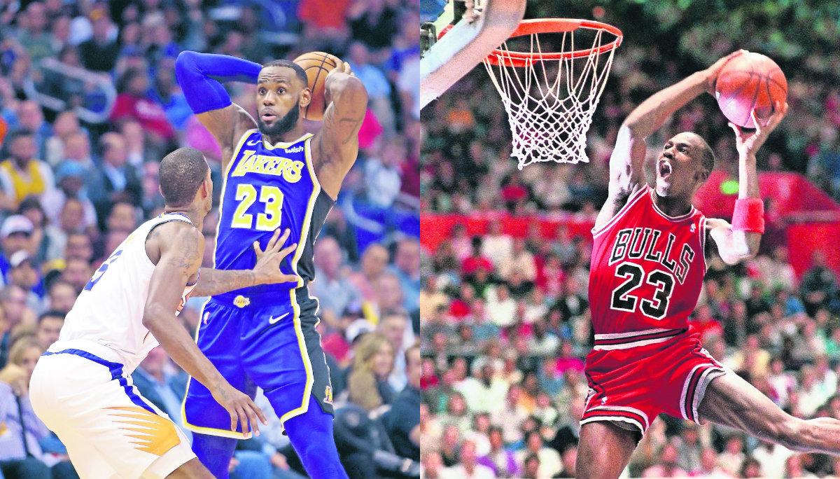 LeBron James Básquetbol Michael Jordan Marca histórica NBA