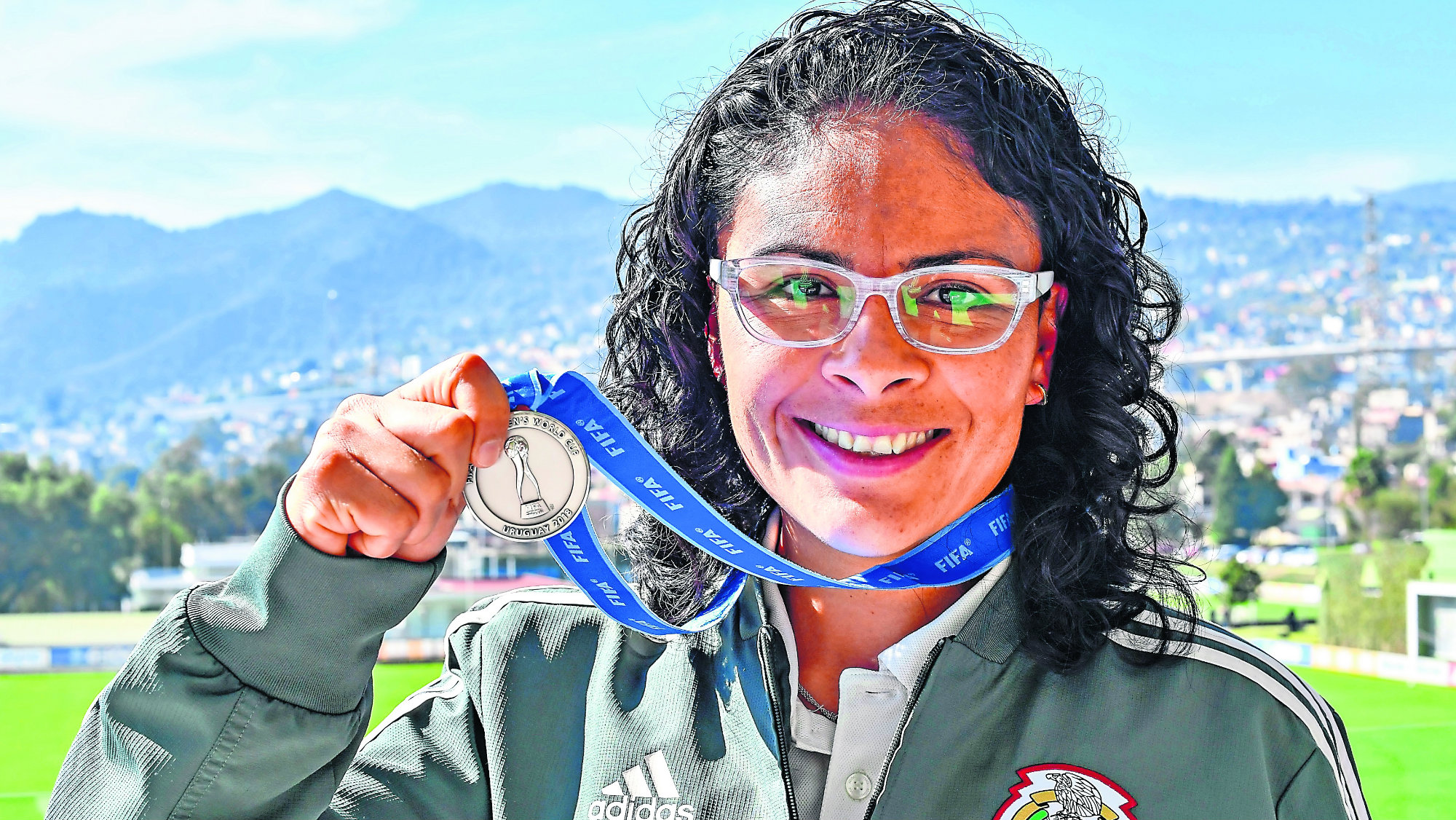 Mónica Vergara Día de la mujer Historias Final Fútbol mundial