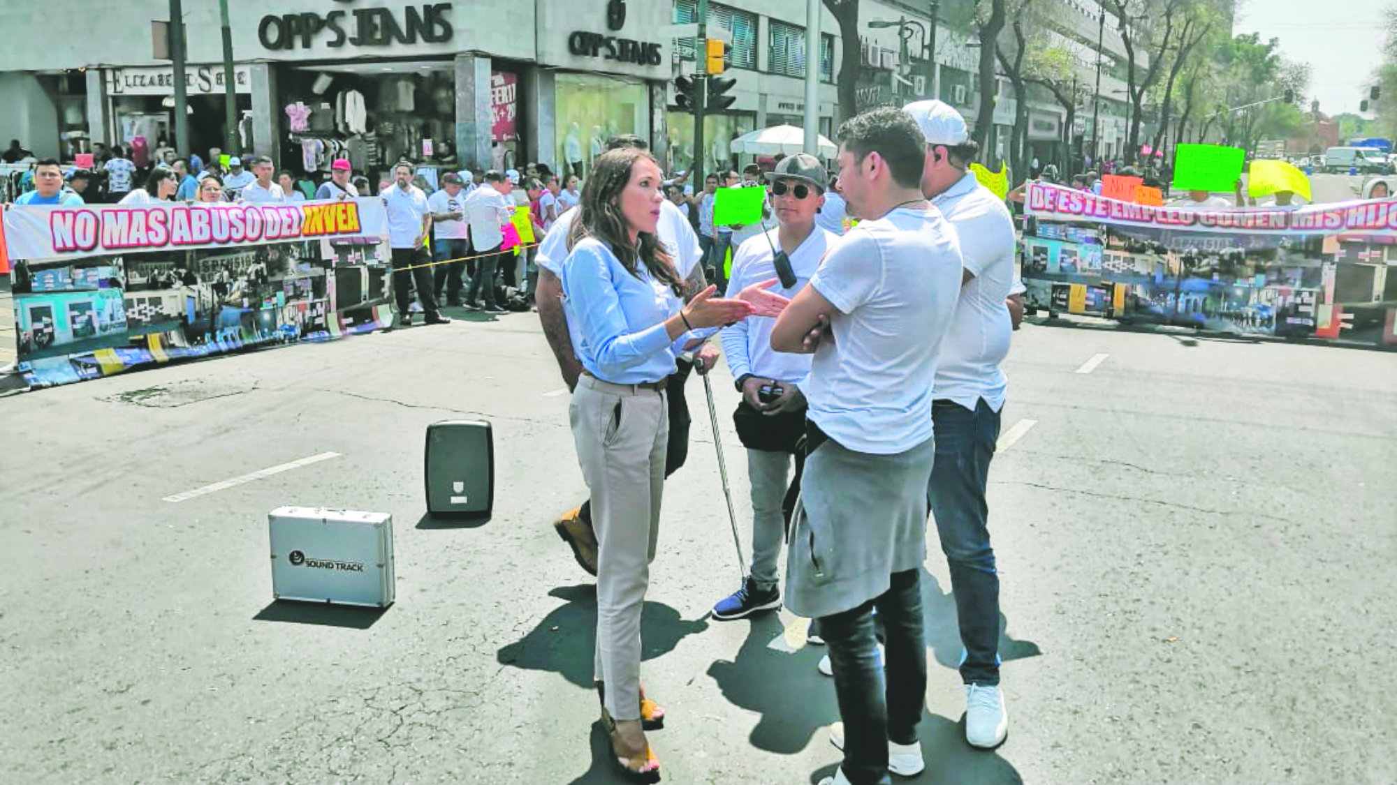 Restaurantes Bares Protesta CDMX