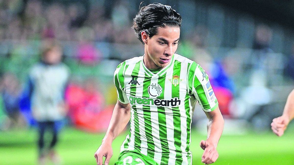 Diego Lainez betis comparaciones Fernando Morientes
