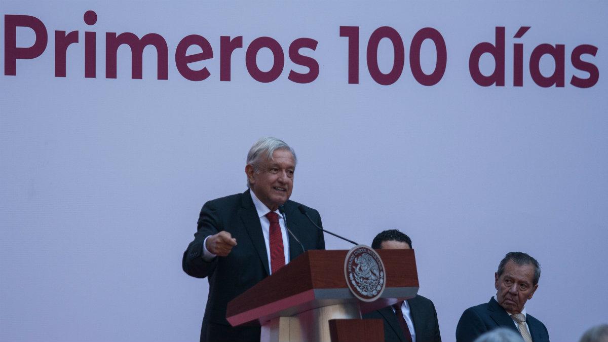 Andrés Manuel conferencia primeros 100 días de Gobierno temas logros antes muerto que traidor