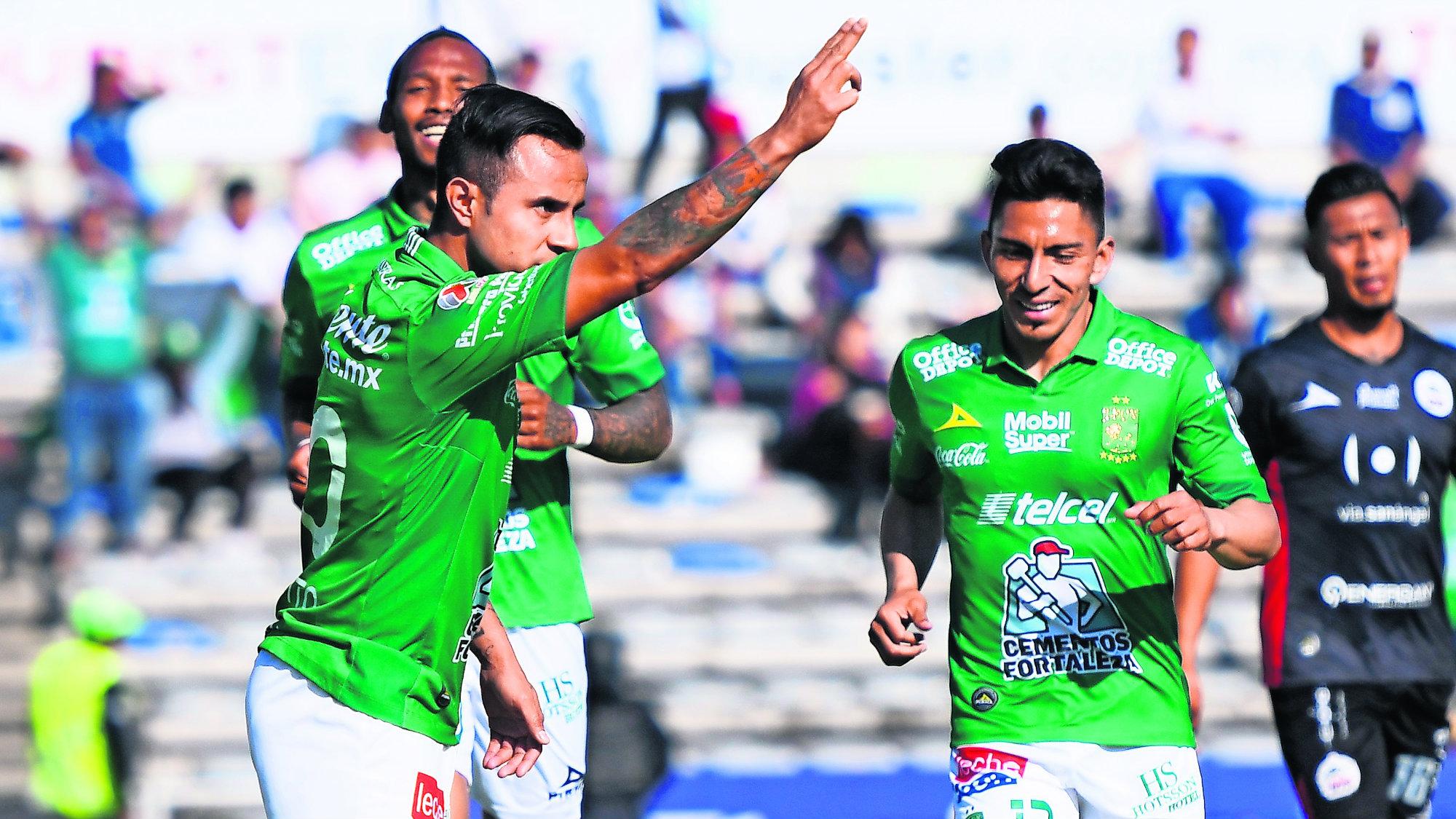 Lobos BUAP Club León Victoria Fúbol mexicano Liga MX