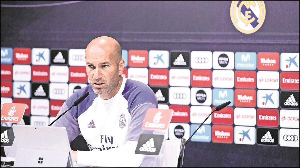 Real Madrid zinedine zidane Santiago Solari