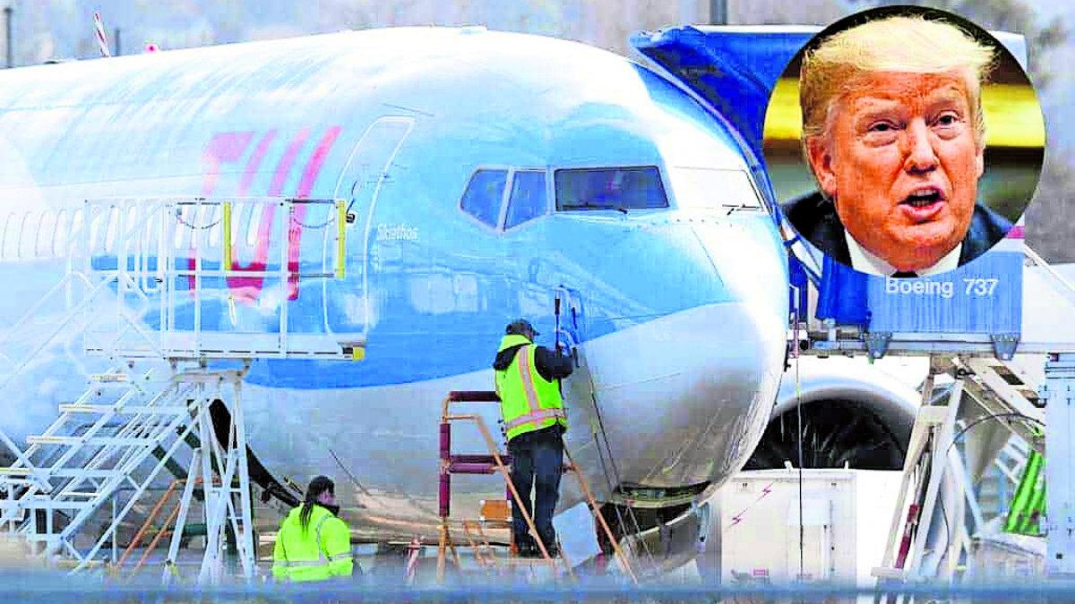 Donald Trump prohíbe vuelos aviones Boeing 737 Max 8 9