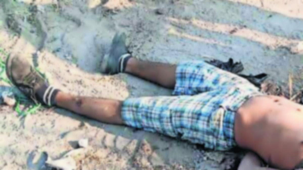 Cadáver hombre desollado maniatado Temixco