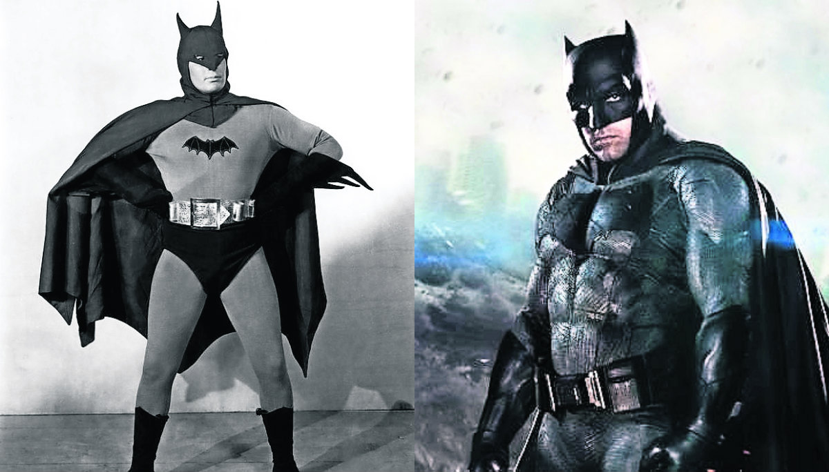 """Así se ha visto la evolución de """"Batman"""" a través de los años"""