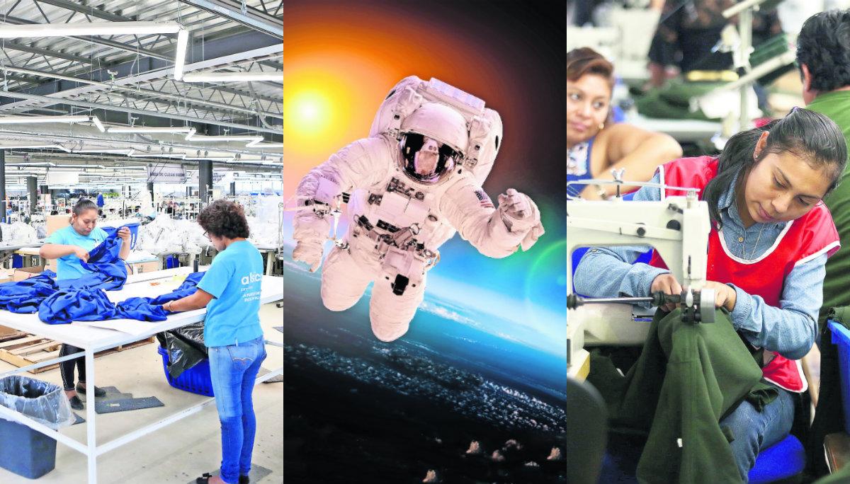 Empresa Trajes NASA Trabajadores yucatecos México
