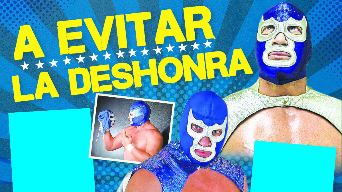 Blue Demon Jr. no quiere ser culpable de la caída de la máscara de su padre