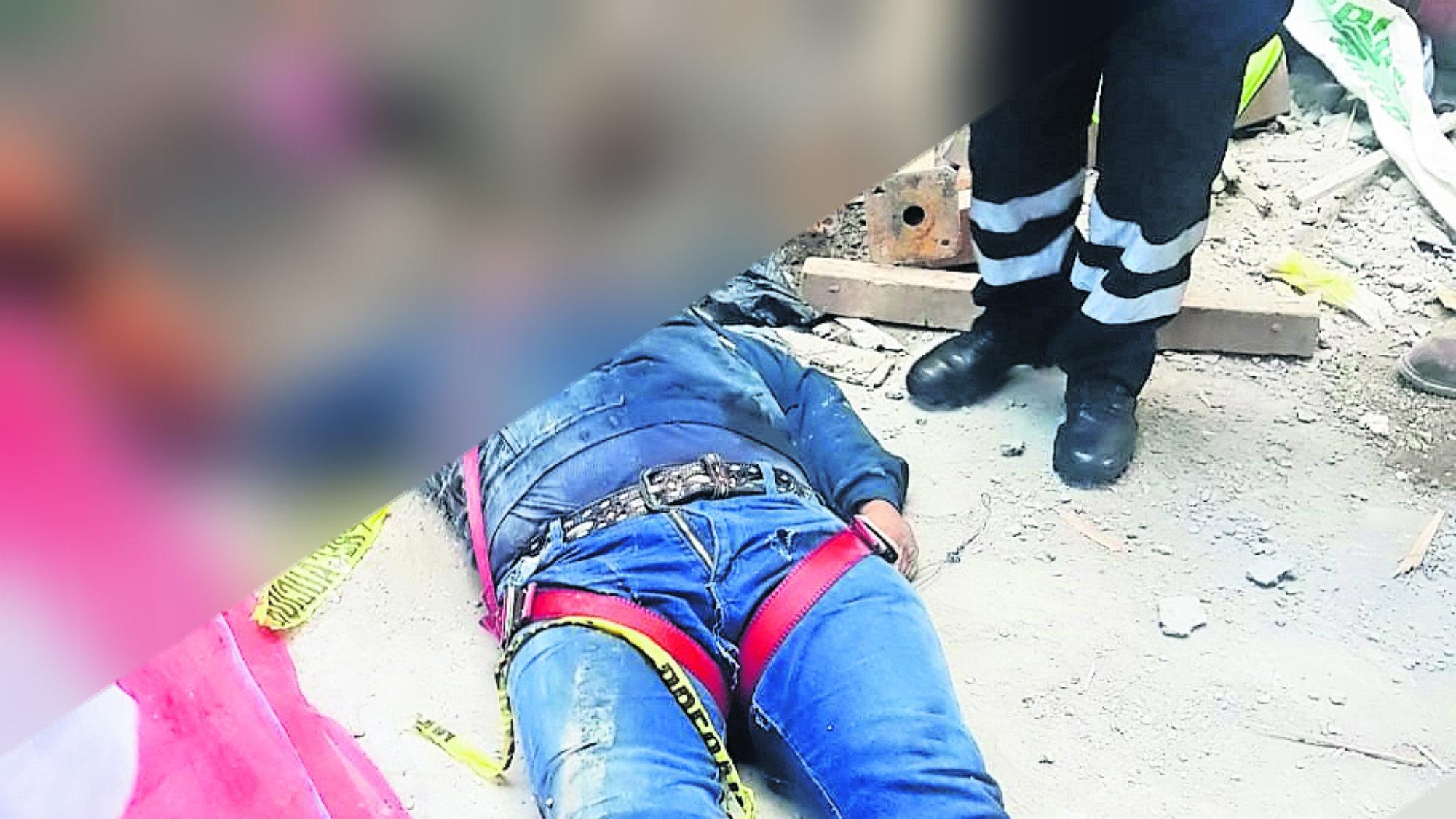 Muere trabajador Construcción Equipo de seguridad CDMX