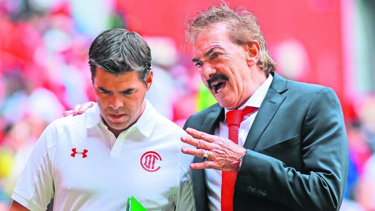 Ricardo La Volpe Diablos tengan confianza para ser campeón Toluca