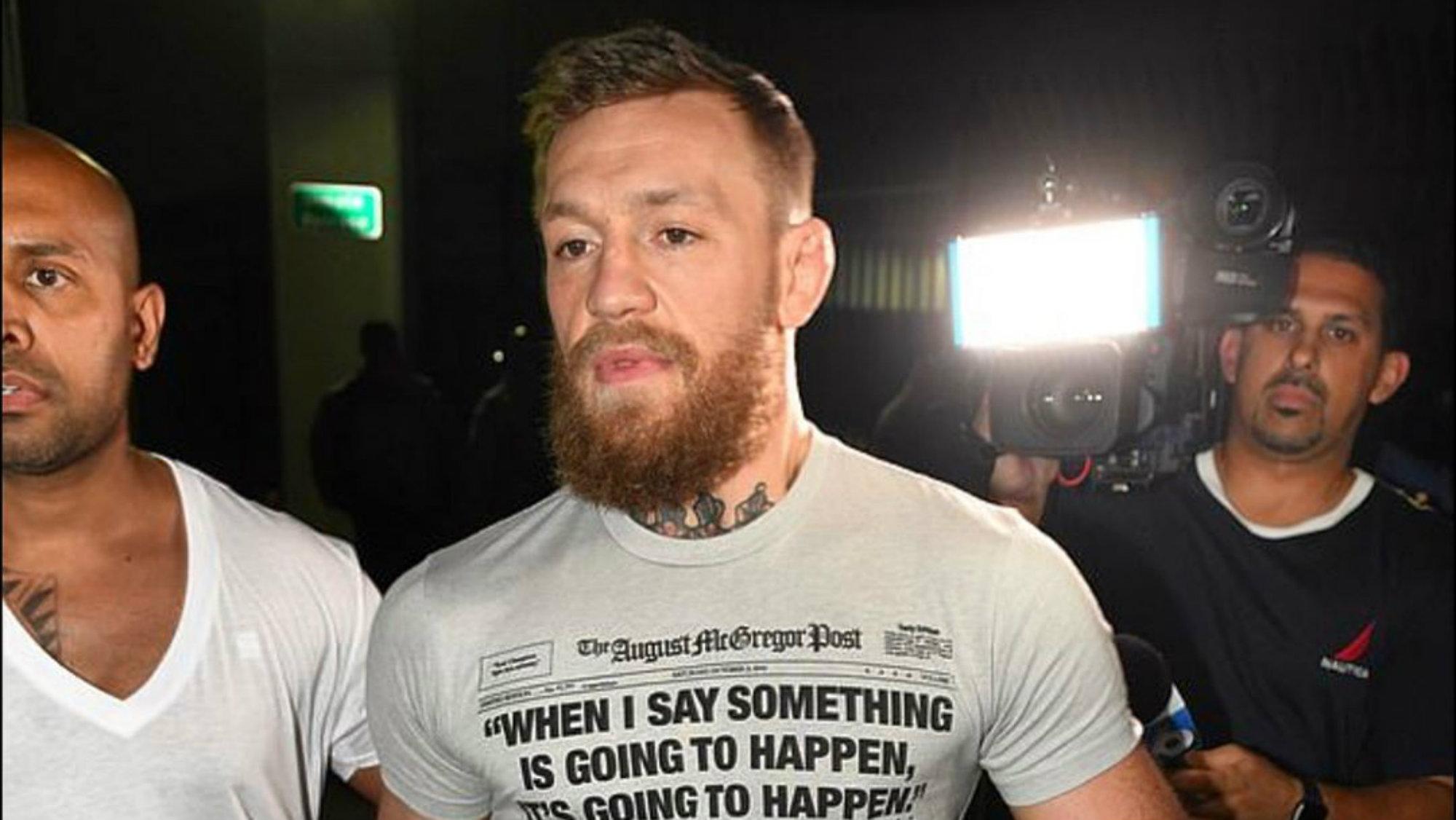 Conor McGregor retiro UFC Octágono