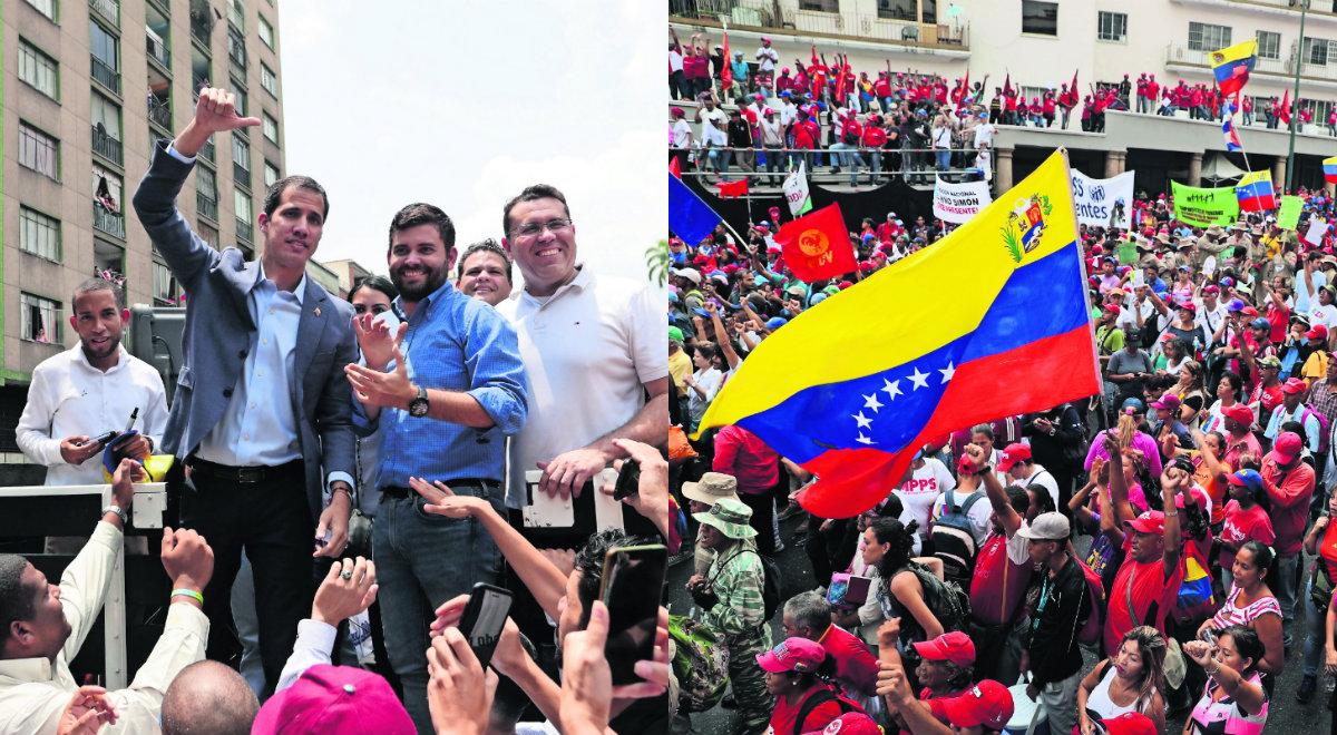 protestan venezuela por apagones de luz Juan Guaidó  Nicolás Maduro