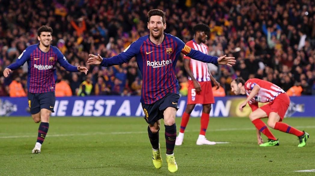 Barcelona derrota al Atlético de Madrid y da un gran paso al título