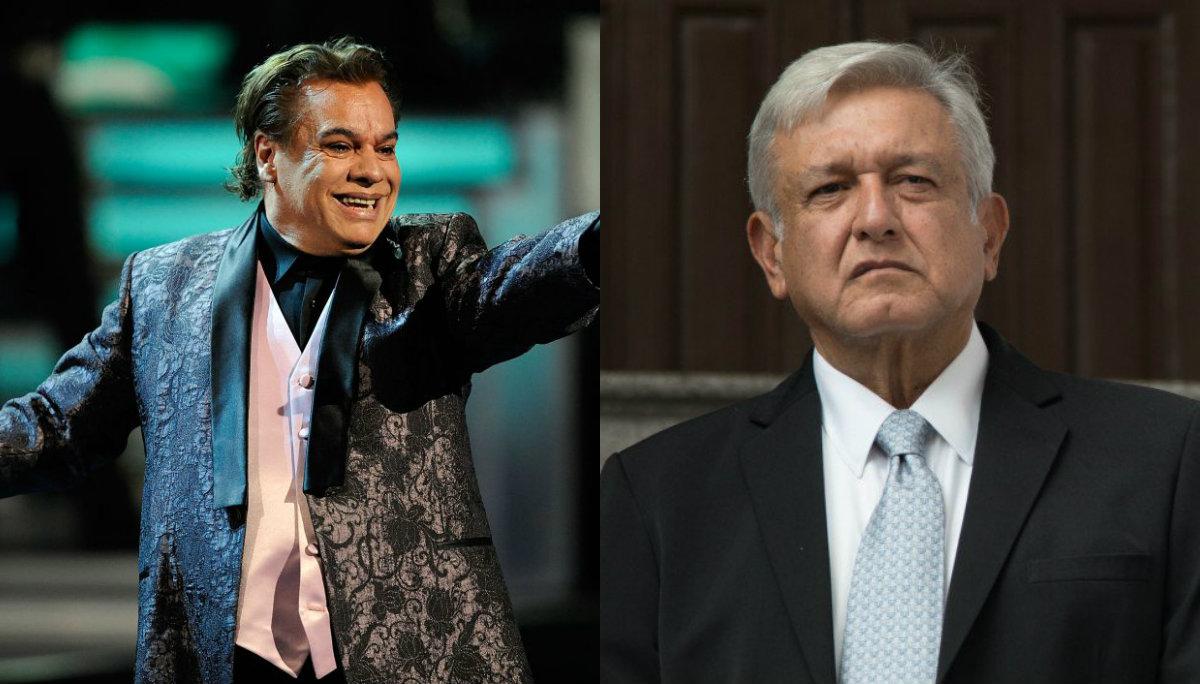 Aseguran que Juan Gabriel invitó a su reaparición a AMLO