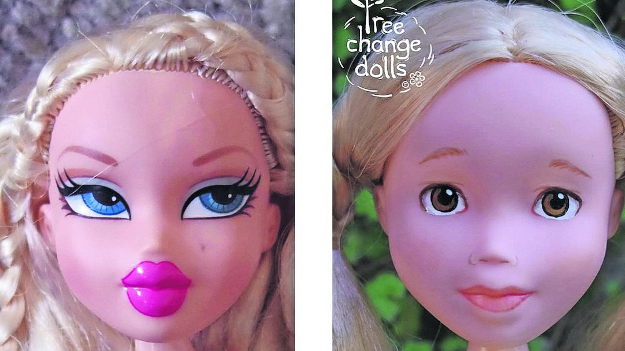 Artista devuelve belleza real muñecas