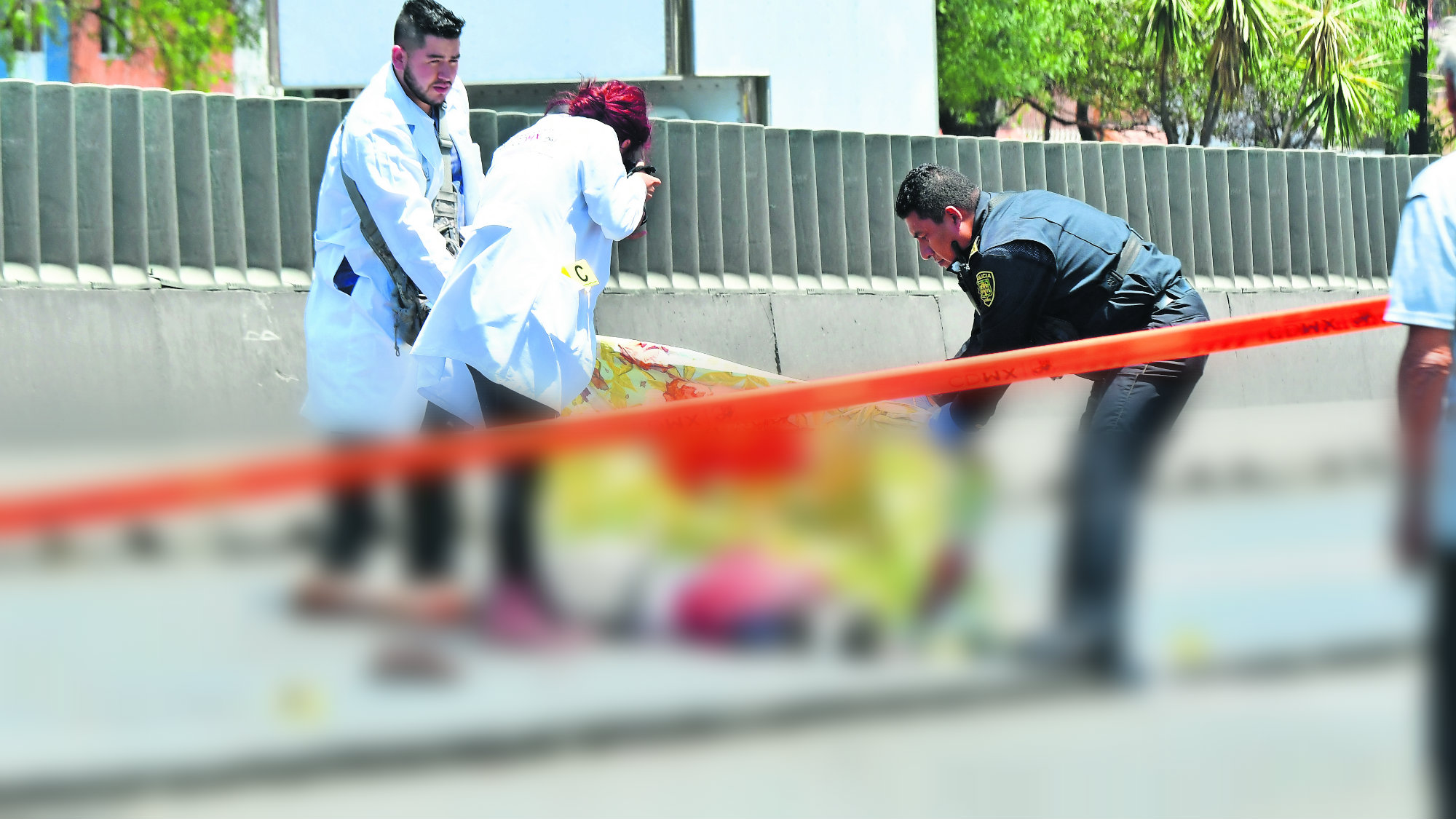 Abuelita intenta cruzar avenida pero tráiler la arrolla y muere en CDMX