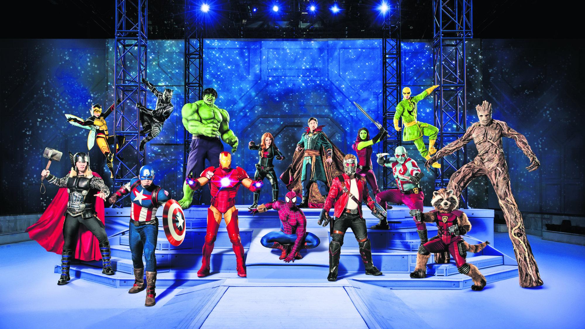 Marvel Universe LIVE! Age of Heroes llega a la Ciudad de México