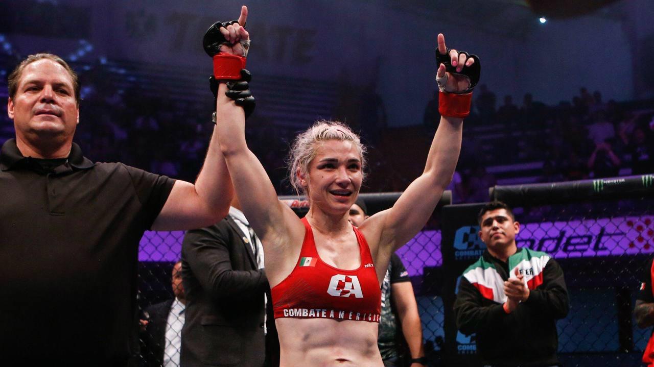 Sexy Dulce saborea su estreno triunfal en las MMA