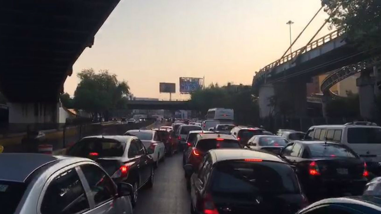Circuito Interior reparaciones transito ciudad de mexico