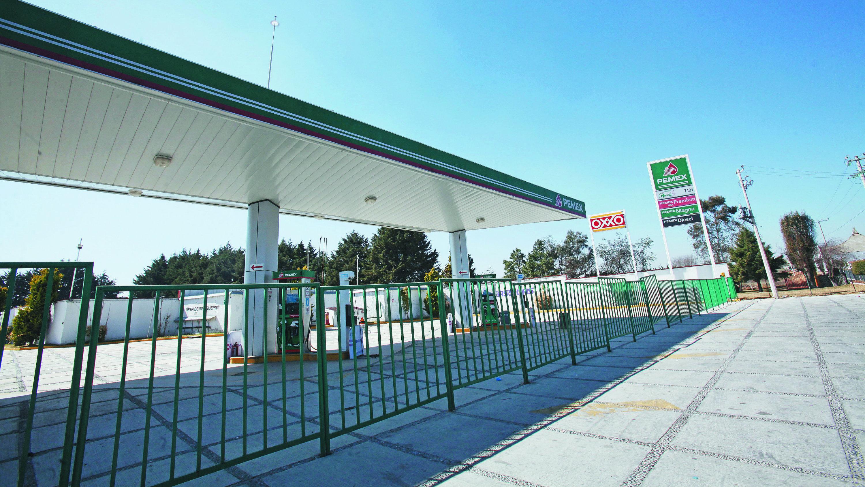 Estación clausurada vender combustible robado