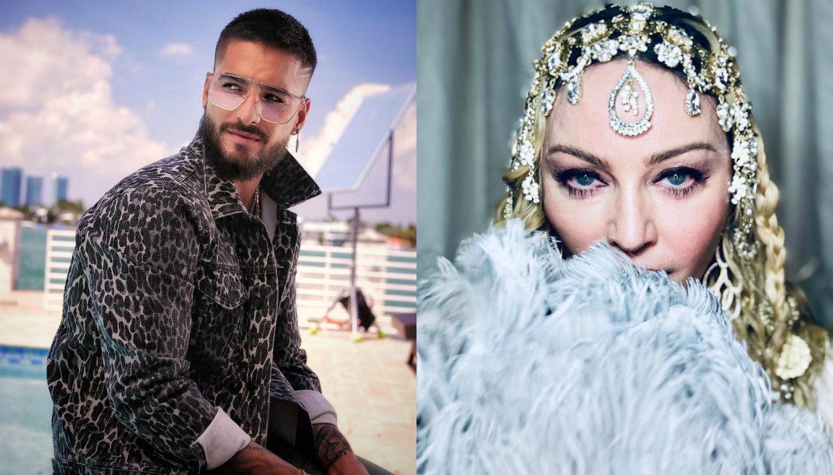 """Madonna y Maluma estrenan su nueva canción """"Medellín"""""""