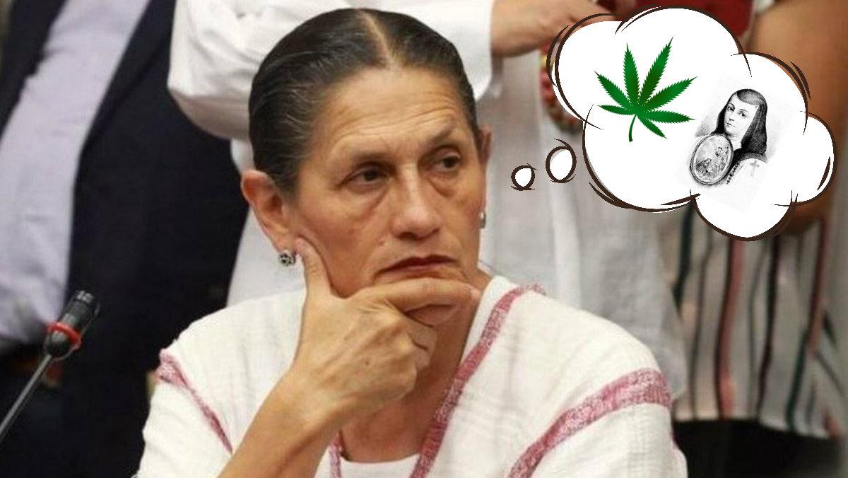 sor juana inés de la cruz cannabis marihuana legalización jesusa rodríguez