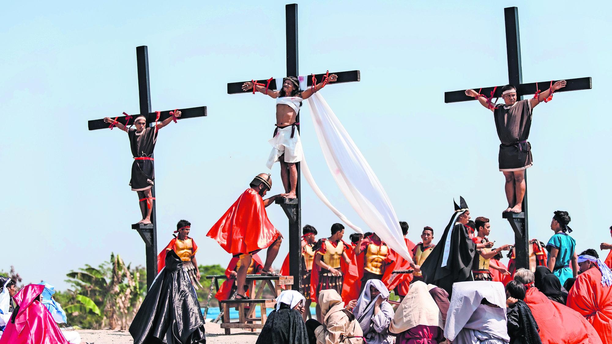 Filipinas el país donde se autoinfligen duros castigos por la Pasión de Cristo