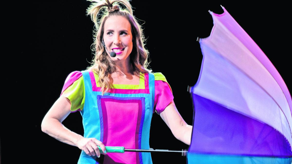 mariana mallol celebra 20 años de sonrisas teatro de la ciudad