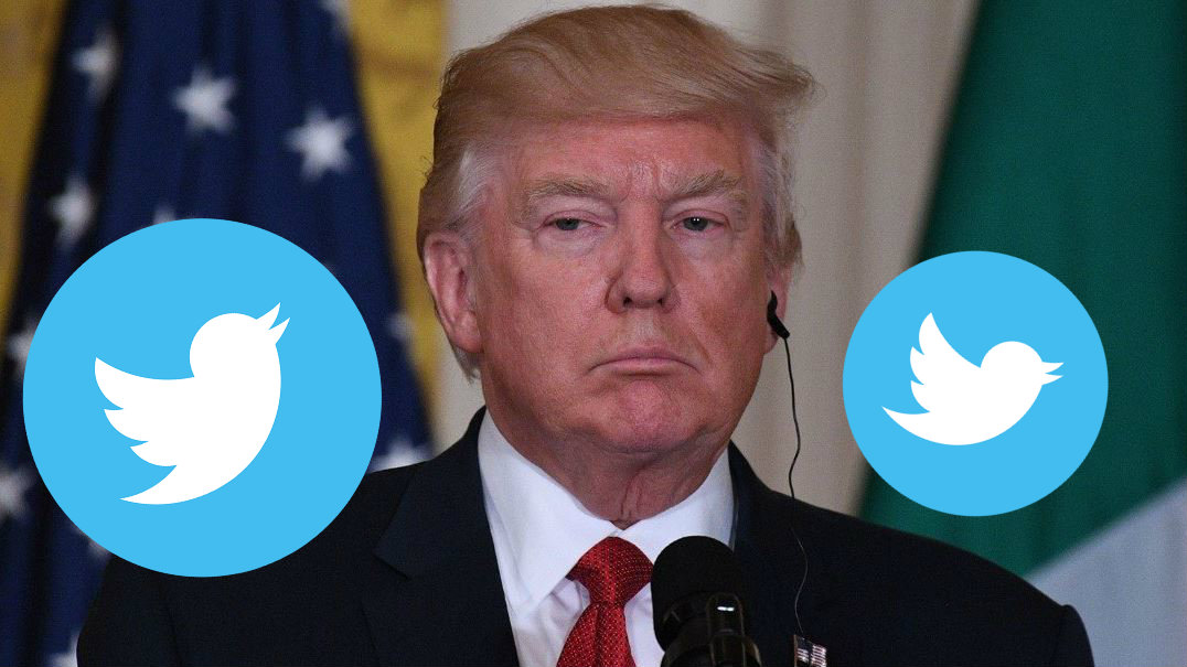 donald trum se reune con fundador de twitter reclama