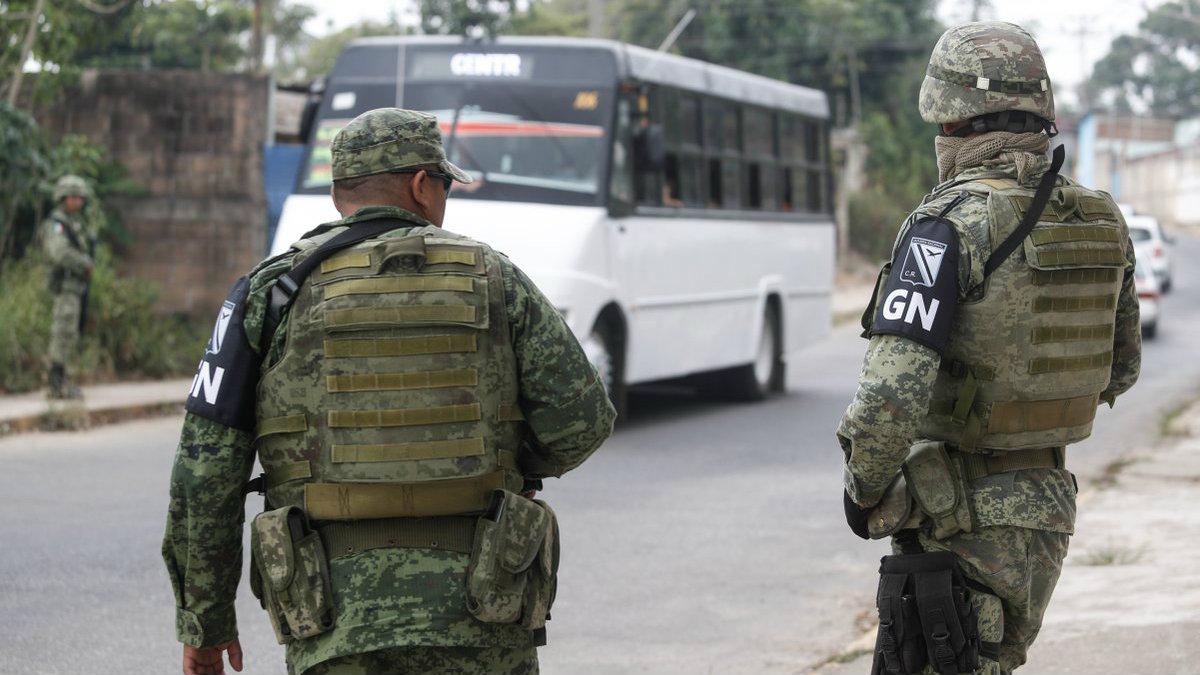 Guardia Nacional inicia en Veracruz Oaxaca Baja California y Quintana Roo
