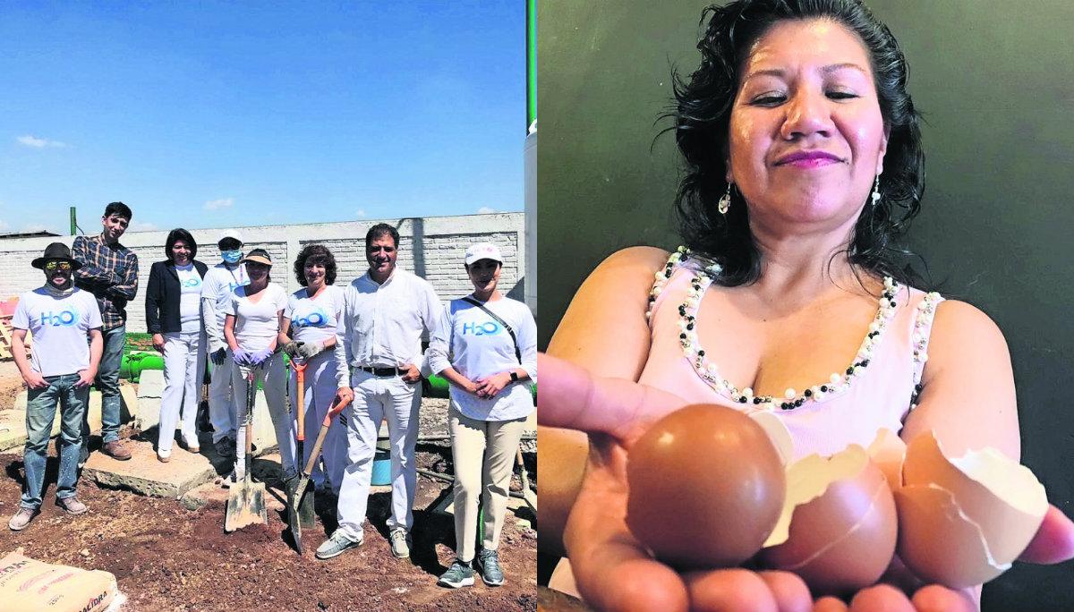 limpieza rio lerma toluca estado de mexico cascaras de huevo
