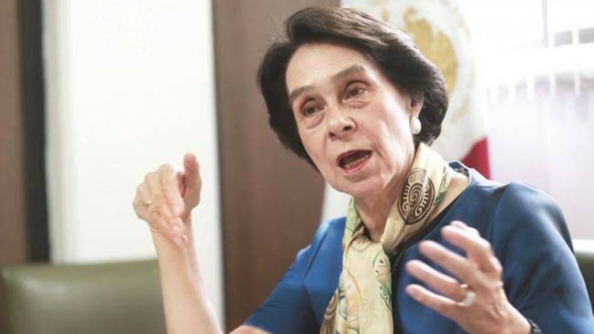 Muere María de los Ángeles Moreno expresidenta del PRI