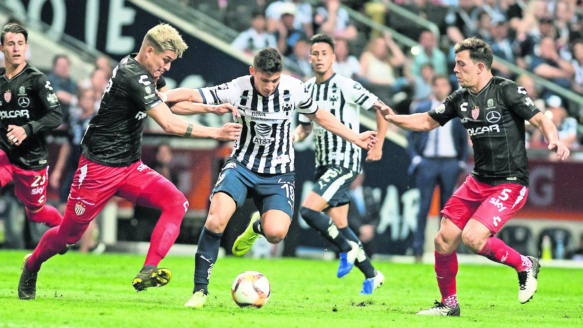 Monterrey vs Rayos del Necaxa Empate Liguilla 2019 Fútbol nacional
