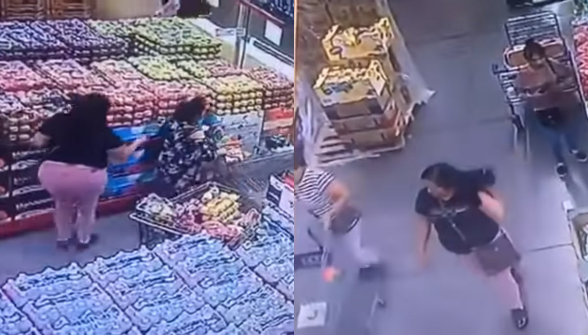 Modus operandi Carteristas Robo en supermercado Video