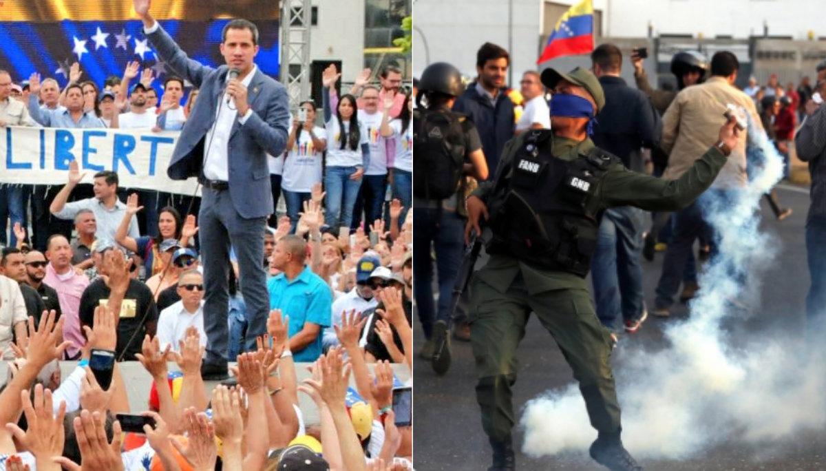 Juan Guaidó Leopoldo López Nicolás Maduro Operación Libertad