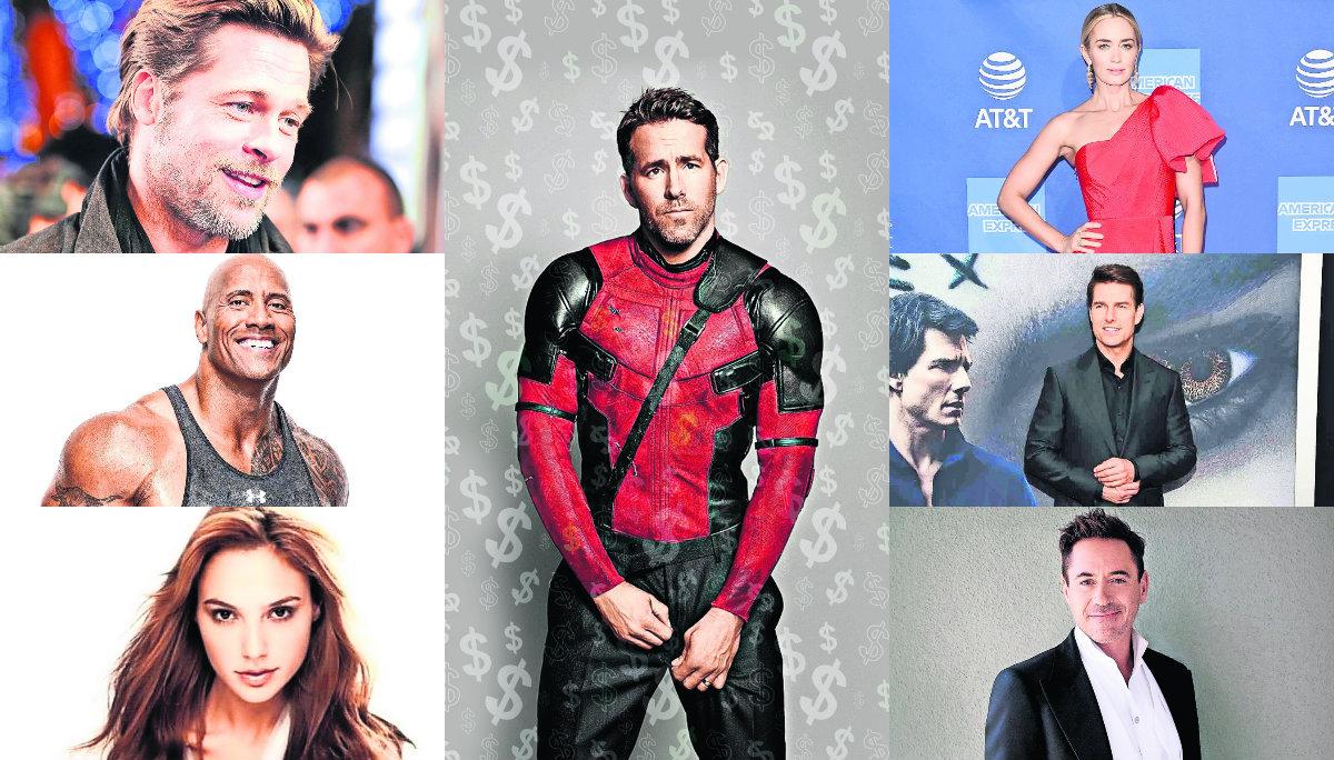 Costos en Hollywood Netflix Ryan Reynolds