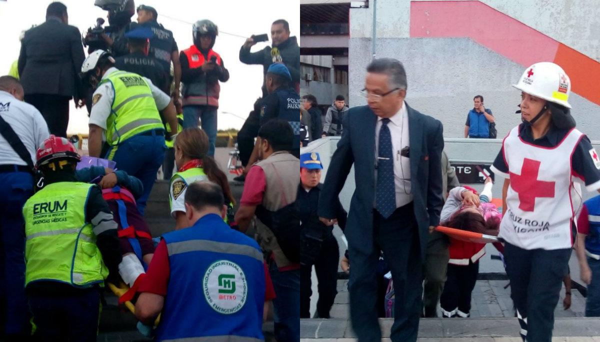 explosión metro chabacano lesionados vías chizpazo