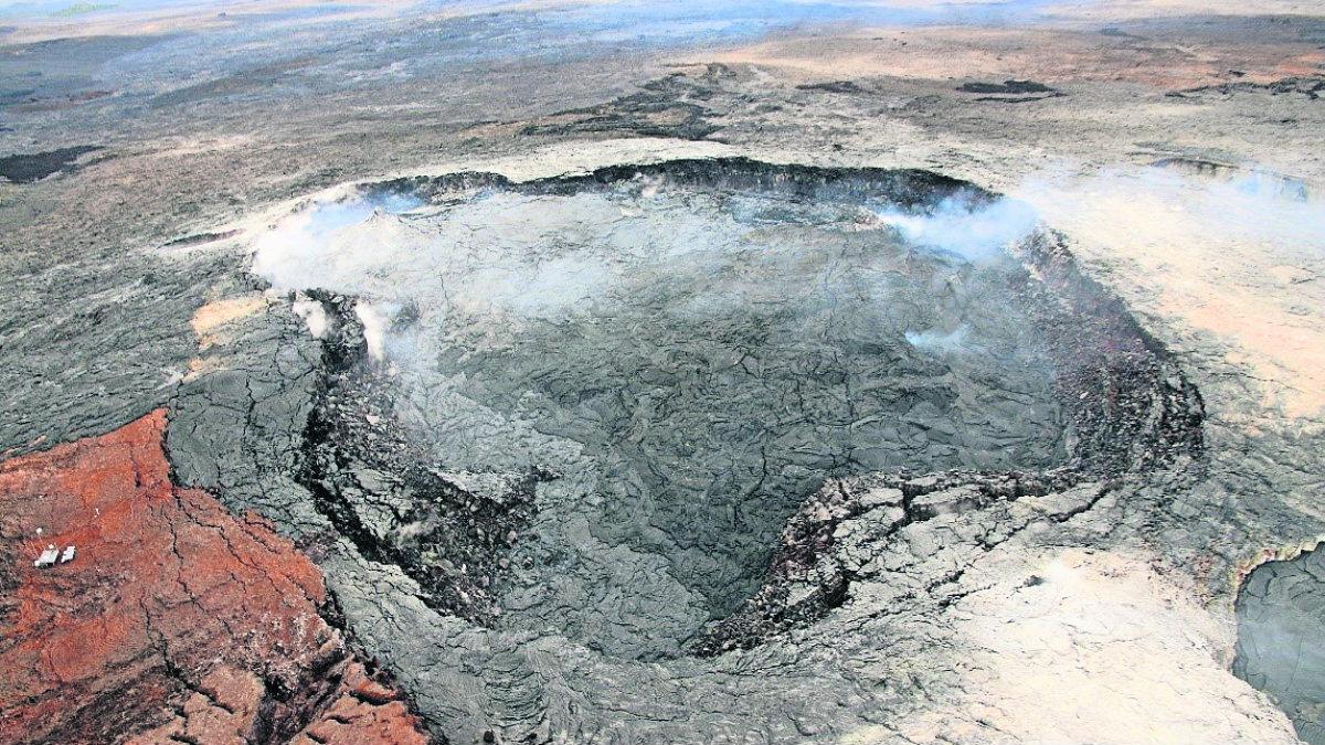 hombre que cayó volcán Kilauea