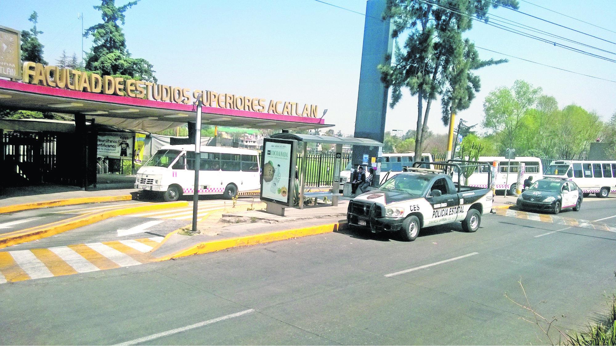 Gobierno de CDMX FES Acatlán Sendero Seguro
