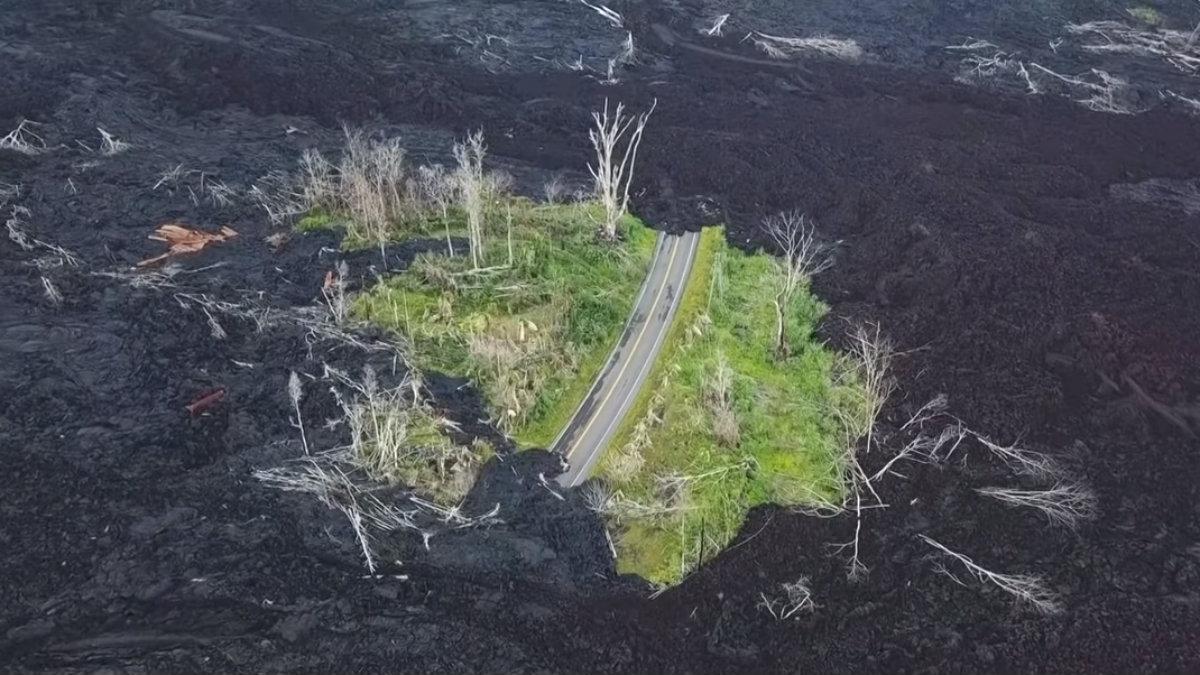 un año después erupción Kilahuea