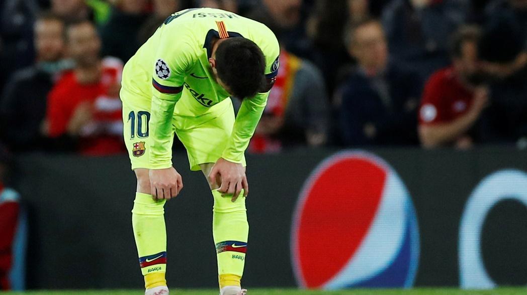 Afición recrimina a Messi